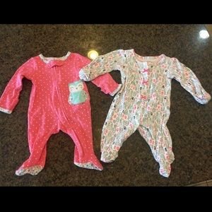 Cute NB Owl Baby Girl Outfits